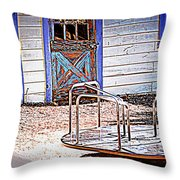 Ghost Of A Child Throw Pillow