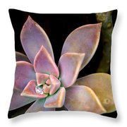 Ghost Plant 3 Throw Pillow