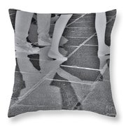 Ghost Walkers Throw Pillow