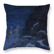 Ghosts Of Everest Throw Pillow