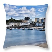 Ghosts On The Beach Throw Pillow