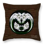 Ghoulish Nightmare Throw Pillow