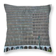 Giant Bank Of M And T Throw Pillow