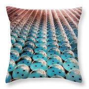 Giant Bubble Wrap Throw Pillow