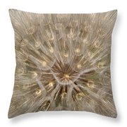 Giant Dandelion Throw Pillow
