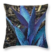 Giant Purple Wandering Jew 2 Throw Pillow