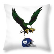Giants Suck Throw Pillow