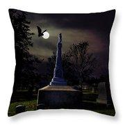 Gibbard Grave Throw Pillow