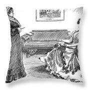 Gibson: A Careful Daughter Throw Pillow