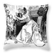 Gibson: A Few Years Later Throw Pillow