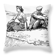 Gibson: A Little Incident Throw Pillow