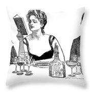 Gibson: A Word To The Wise Throw Pillow