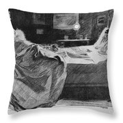 Gibson Art, 1897 Throw Pillow