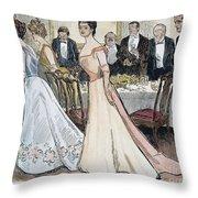 Gibson Art, 1899 Throw Pillow