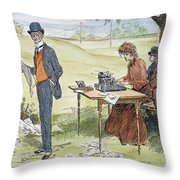 Gibson Art, 1903 Throw Pillow