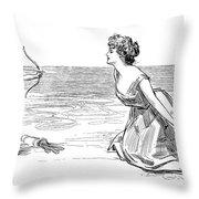 Big Game, 1900 Throw Pillow