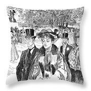 Gibson: Church Parade Throw Pillow