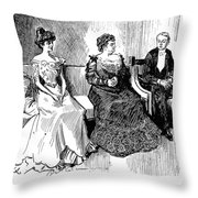 Drawings, 1900 Throw Pillow