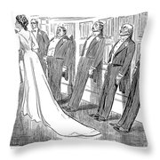 Gibson: Frozen, 1902 Throw Pillow