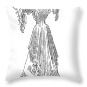 Gibson: Gibson Girl, 1903 Throw Pillow