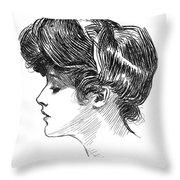 Gibson: Gibson Girl, C1904 Throw Pillow