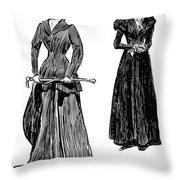 Gibson: Grandmother, 1897 Throw Pillow