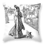 Gibson: Half Mourning Throw Pillow