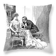His Dance, 1903 Throw Pillow