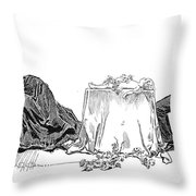 Gibson: Love Will Die, 1894 Throw Pillow