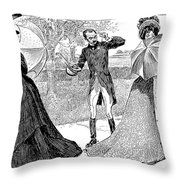 Gibson: Predicament, 1899 Throw Pillow