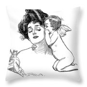 Gibson: Story, 1902 Throw Pillow