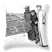 Gibson: The First Day Out Throw Pillow