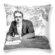 Gibson: The Weaker Sex Throw Pillow