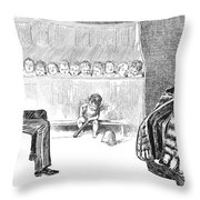 Gibson: Trial By Jury Throw Pillow