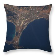 Giens Peninsula, France Throw Pillow