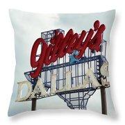 Gilleys Dallas Throw Pillow