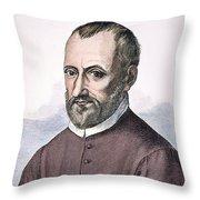 Giovanni Palestrina Throw Pillow