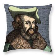 Girolamo Fracastoro, Italian Polymath Throw Pillow
