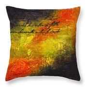 Give Me Strength 1 Throw Pillow