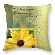 Give Thanks IIi Throw Pillow