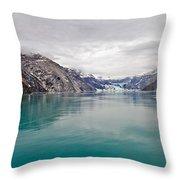 Glacier Bay National Park Throw Pillow