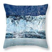 Glacier Face Throw Pillow