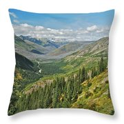 Glacier National Park 9275 Throw Pillow