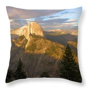 Glacier Point Glow Throw Pillow