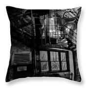 Glare Of Despair  Throw Pillow