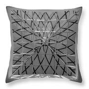 Glass Celing Throw Pillow