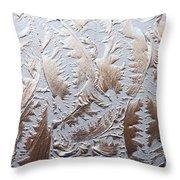 Glass Designs Throw Pillow