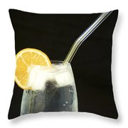 Glass Of Water II Throw Pillow