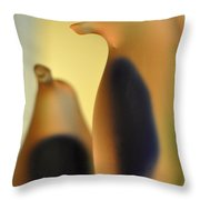Glass Penguins Throw Pillow