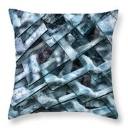 Glass Scales Throw Pillow